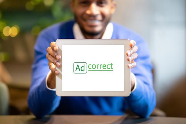 Sample branding #1 for Adcorrect