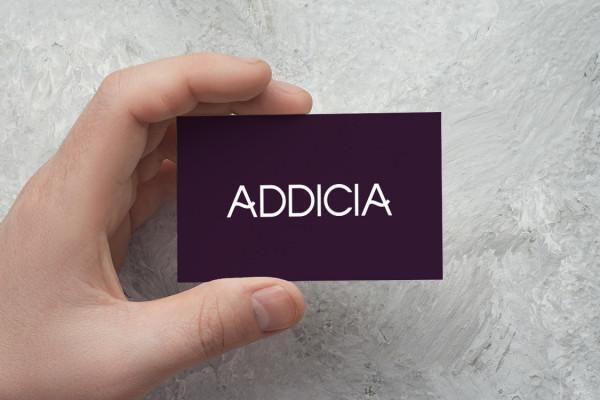 Sample branding #2 for Addicia