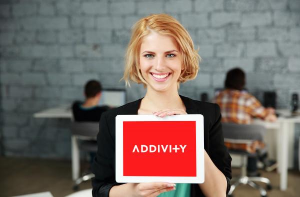Sample branding #2 for Addivity