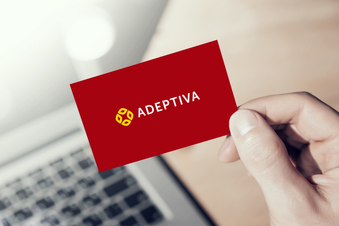 Sample branding #3 for Adeptiva