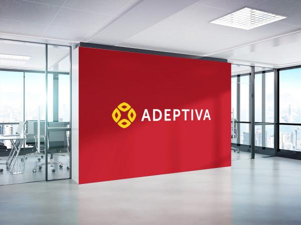 Sample branding #1 for Adeptiva