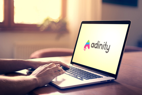 Sample branding #2 for Adinity