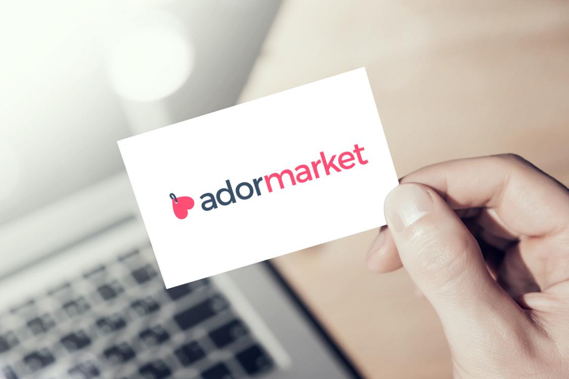 Sample branding #2 for Adormarket