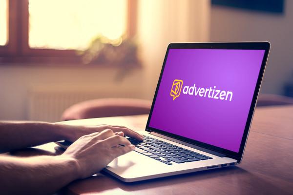 Sample branding #3 for Advertizen