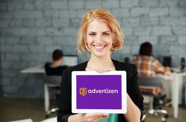 Sample branding #1 for Advertizen