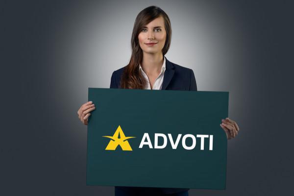 Sample branding #3 for Advoti