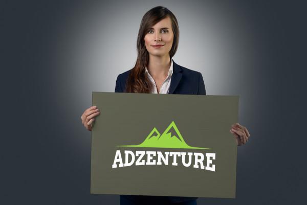 Sample branding #1 for Adzenture