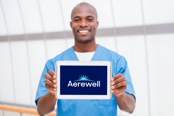 Sample branding #1 for Aerewell