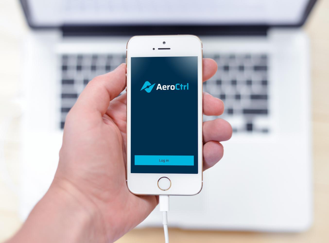 Sample branding #1 for Aeroctrl