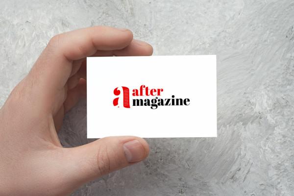 Sample branding #2 for Aftermagazine