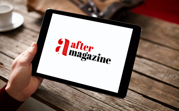 Sample branding #1 for Aftermagazine