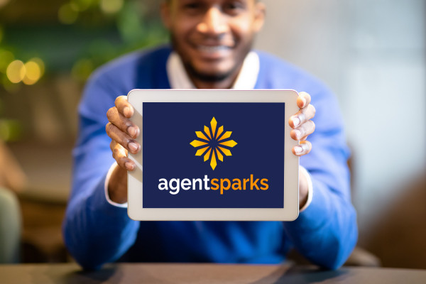 Sample branding #3 for Agentsparks