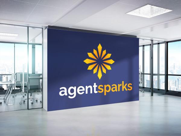 Sample branding #2 for Agentsparks
