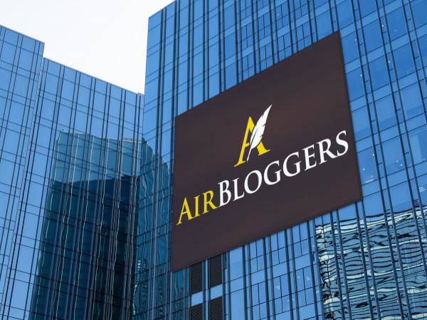 Sample branding #3 for Airbloggers