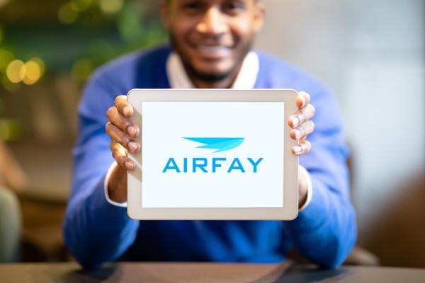 Sample branding #2 for Airfay