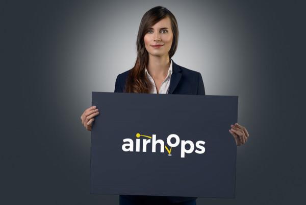 Sample branding #3 for Airhops