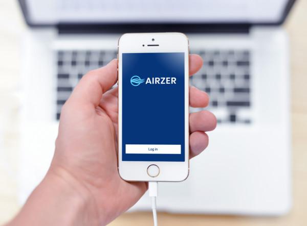 Sample branding #2 for Airzer