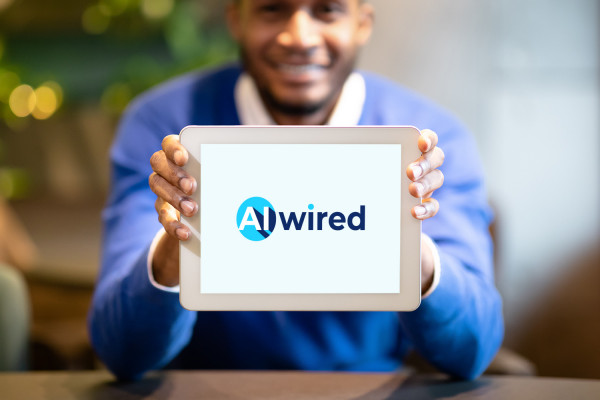 Sample branding #2 for Aiwired