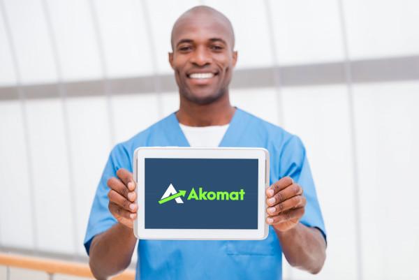 Sample branding #3 for Akomat