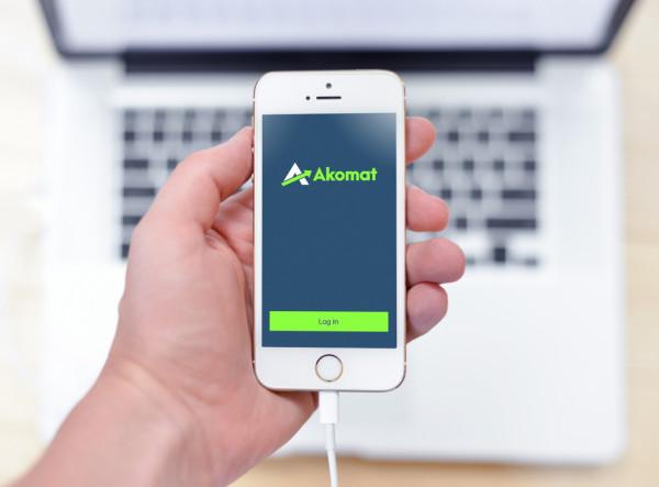 Sample branding #2 for Akomat