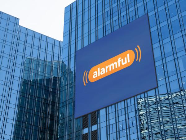 Sample branding #2 for Alarmful
