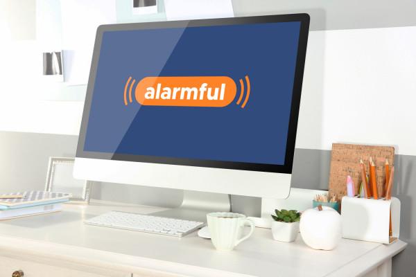 Sample branding #1 for Alarmful