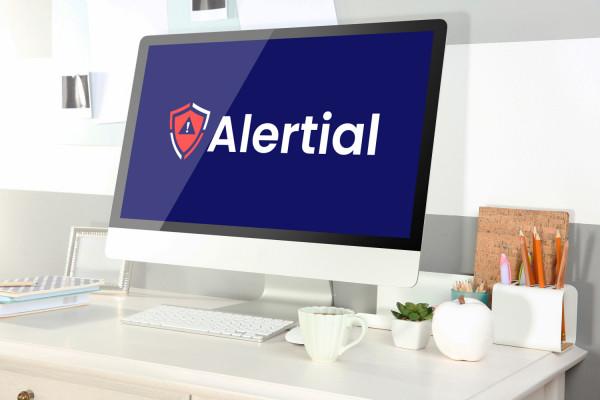 Sample branding #2 for Alertial