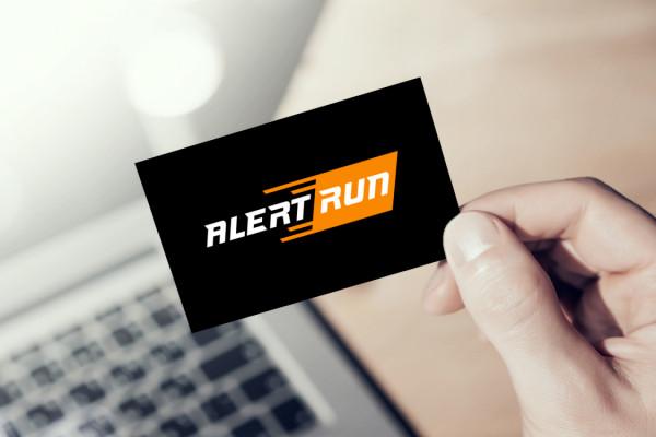 Sample branding #2 for Alertrun