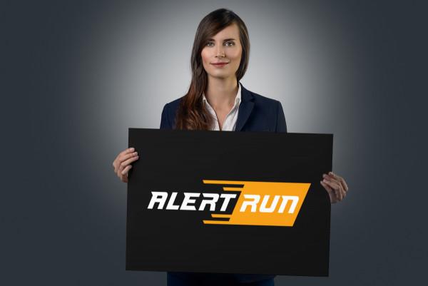 Sample branding #1 for Alertrun