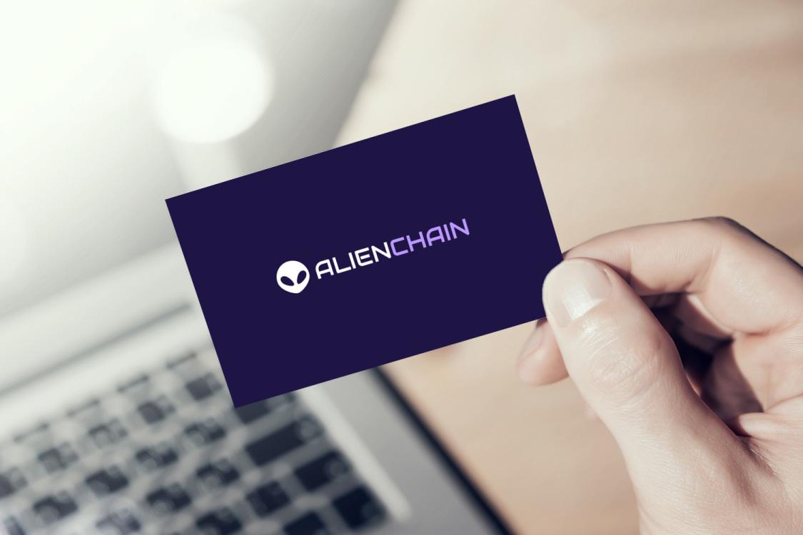 Sample branding #3 for Alienchain