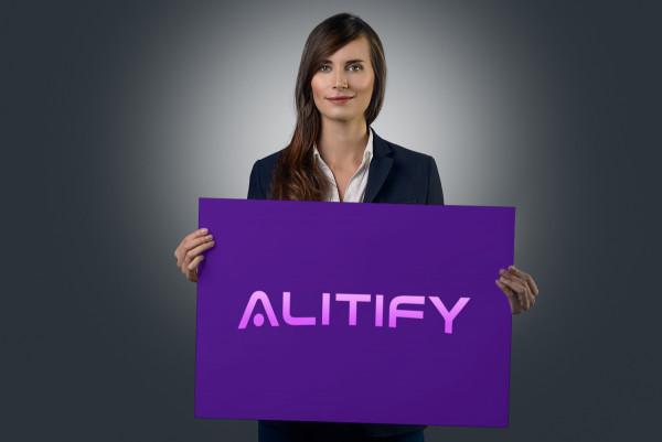Sample branding #1 for Alitify
