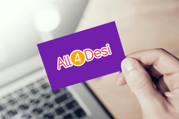 Sample branding #2 for All4desi