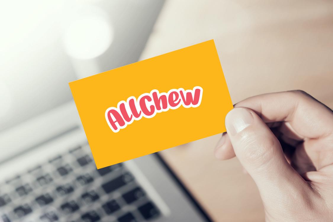 Sample branding #3 for Allchew