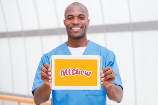 Sample branding #1 for Allchew
