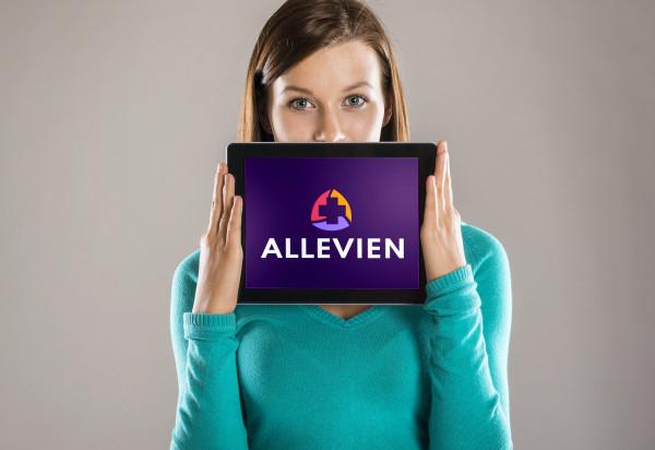 Sample branding #1 for Allevien
