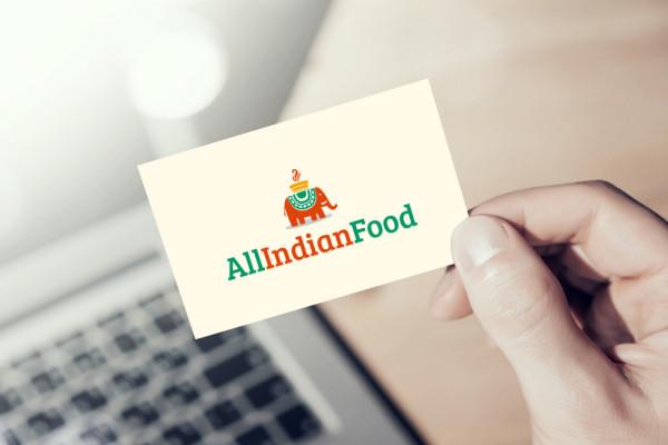 Sample branding #2 for Allindianfood