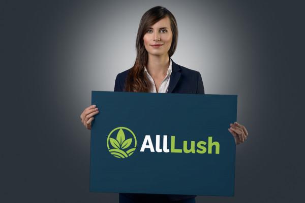 Sample branding #1 for Alllush