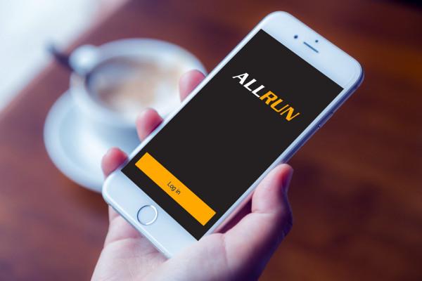 Sample branding #2 for Allrun