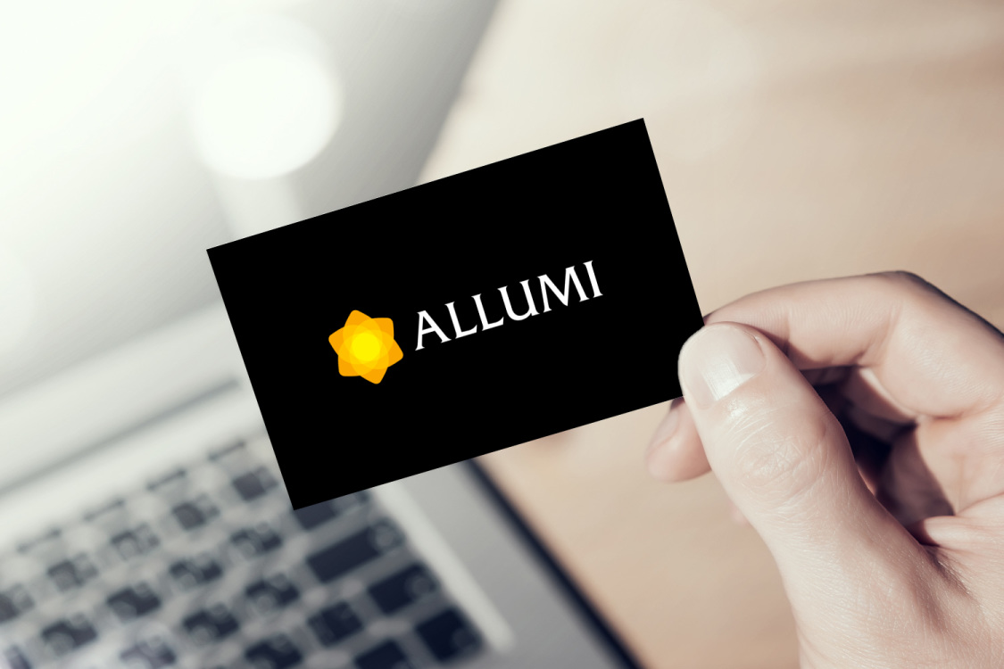 Sample branding #1 for Allumi