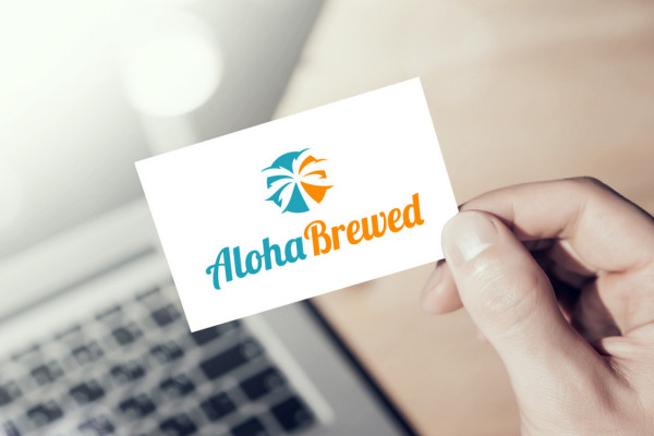 Sample branding #2 for Alohabrewed