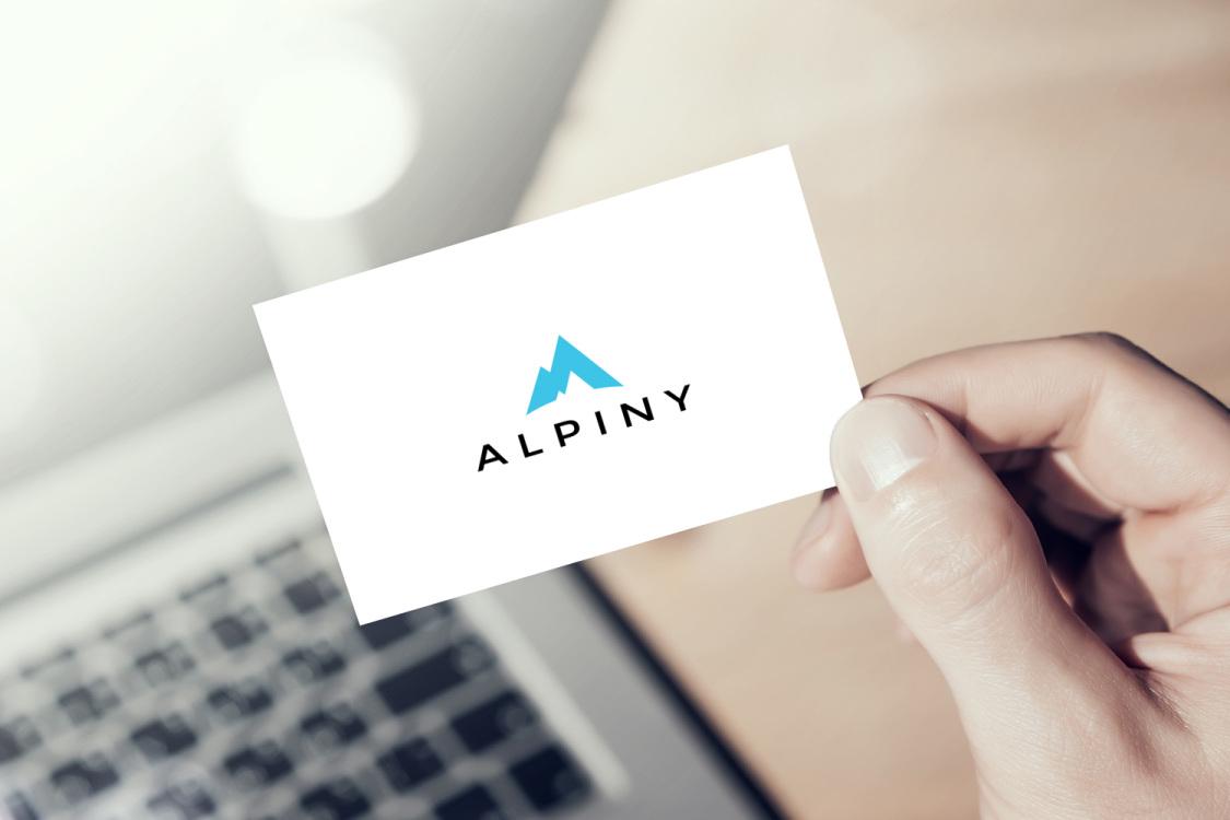 Sample branding #1 for Alpiny