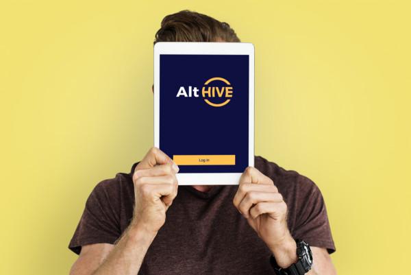 Sample branding #3 for Althive