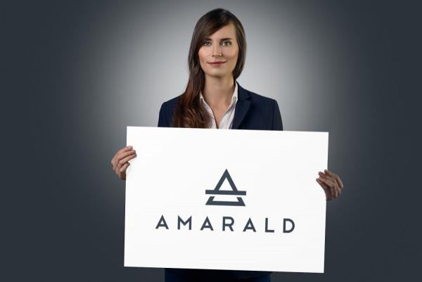 Sample branding #3 for Amarald