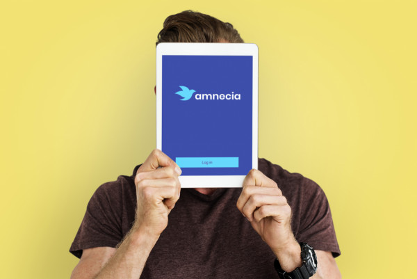 Sample branding #1 for Amnecia