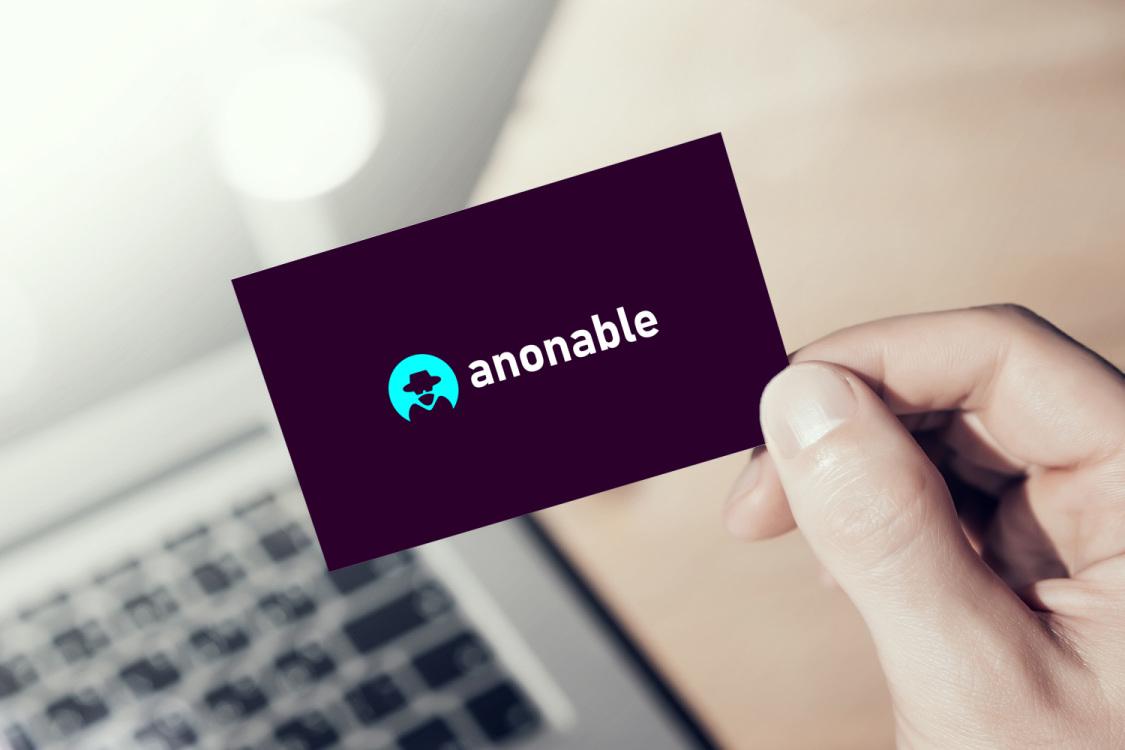 Sample branding #2 for Anonable