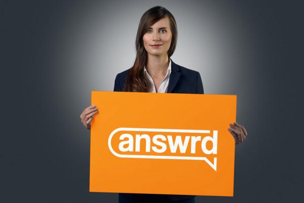 Sample branding #2 for Answrd