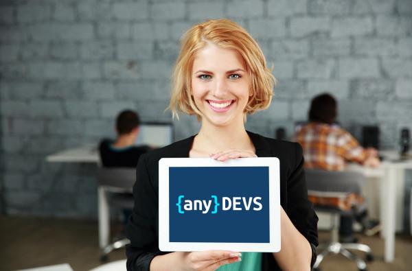 Sample branding #1 for Anydevs