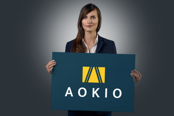 Sample branding #1 for Aokio