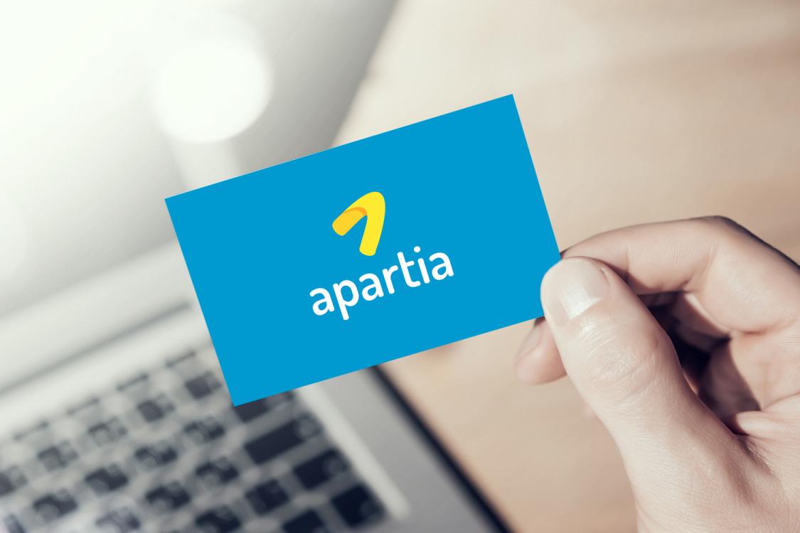 Sample branding #1 for Apartia