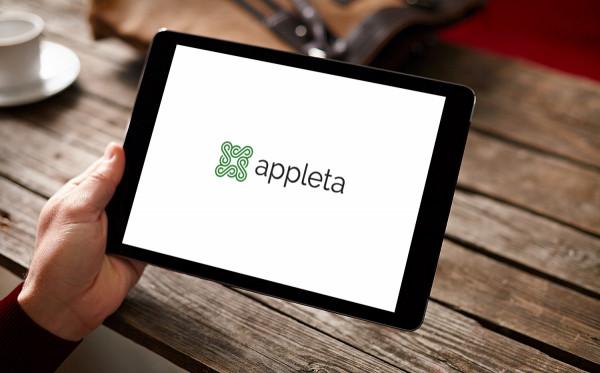 Sample branding #3 for Appleta